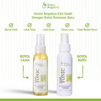 Green Angelica Hair Tonic Obat Penumbuh Rambut Cepat - Obat rambut rontok BPOM