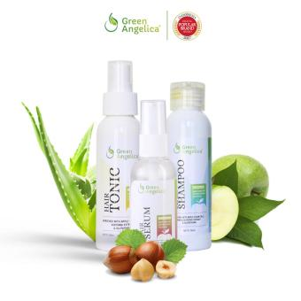 Harga Green Angelica Paket Maksimal Treatment Obat penumbuh rambut botak ampuh Murah