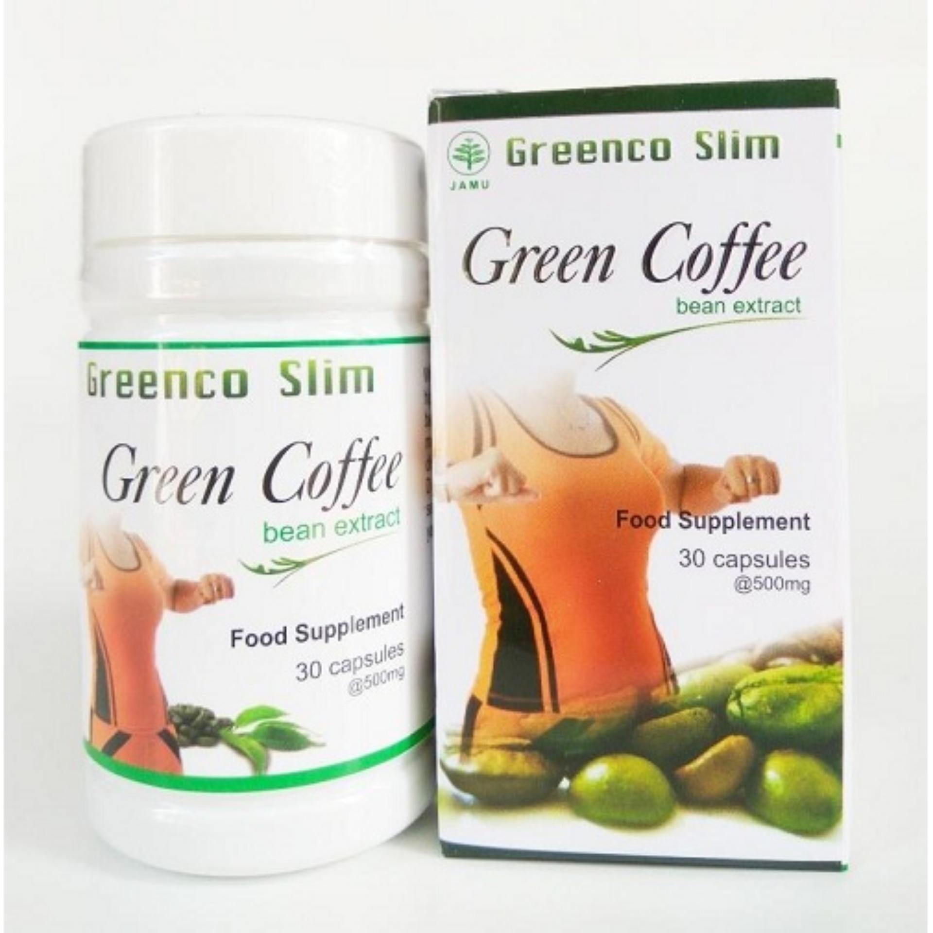 ... Greenco Slim Green Coffee Bean Extract - Isi 30 kapsul HendelExitox Leptin ...