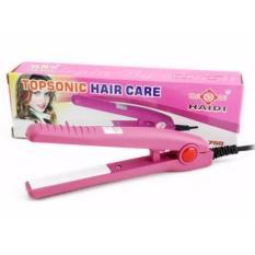 Haidi Catokan Mini Pelurus Rambut - HD 768 - Pink