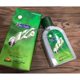 Hair tonic Bio Hair 123 Hijau (Original) 210 ml