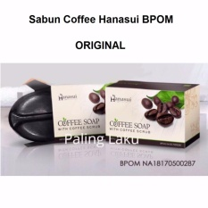 Hanasui Coffee Soap / Sabun Kopi Hanasui BPOM 1Pcs - 30gr