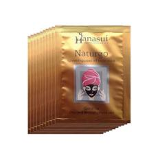 Hanasui Naturgo Masker Lumpur Wajah Sensitif - 10 Pcs