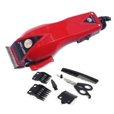 Happy King HK-900 Alat Cukur Rambut Hair Clipper Trimmer Mesin Potong Professional Groomer 3 Mata Pisau Tajam Dan Hemat Energi - 1 Set