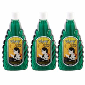 Happy Minyak Urang Aring 90 ml (Isi 3 pcs)