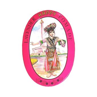Harga Happy Pomade Lavender Red Minyak Rambut Kaesang Murah