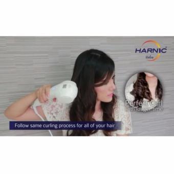 Harga Heles / Harnic Pengeriting Rambut / Automatic Hair Curly HC-800 – Putih Murah