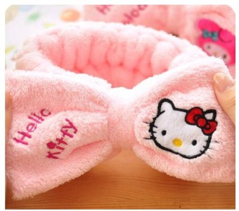 Harga Hello Kitty Korea Fashion Style lembut kecil hewan ikat kepala sabuk Murah