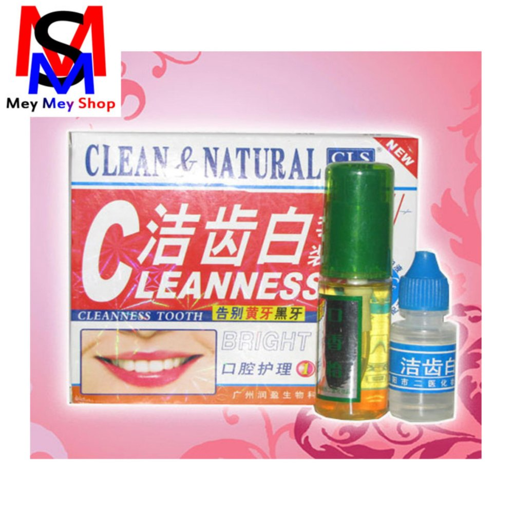 Harga Saya Herbal Pemutih Gigi Dan Penghacur Karang Gigi Clenness