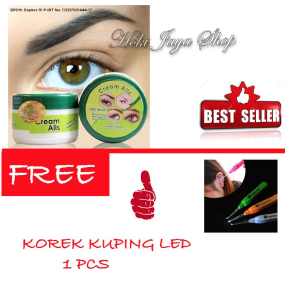 Belanja Murah Hoki Cod Cream Alis New Original Premium Penumbuh Korek Kuping Dan Penebal Free