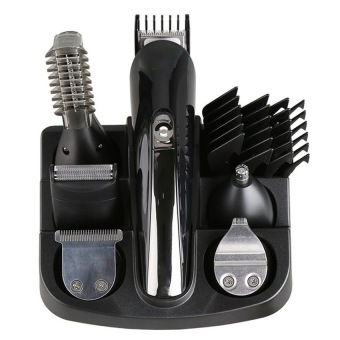 Harga 6in1 Grooming kit Trimmer hair Clipper beard for men nose eartrimer body electric cutter hair cutting machine shaving 2016 new