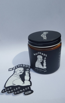 Harga Malverde Beer Pomade (Washable Like Water Based Pomade)
