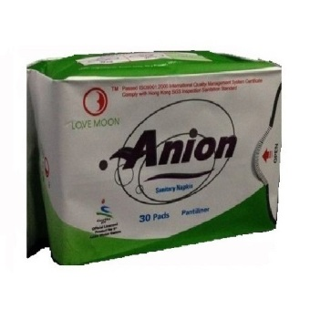 Harga Anion Love Moon Pantyliner Slim Pembalut Anion Ion Negatif 1Box- Hijau