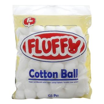 Harga Fluffy Cotton Ball 125's
