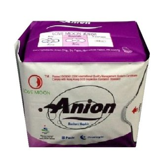 Harga Anion Love Moon Pembalut Anion Pembalut Wanita Ion Negative Night - Ungu