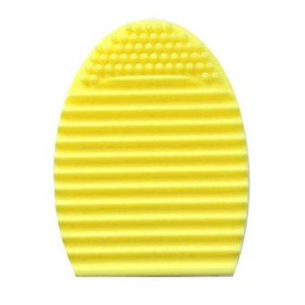 Harga Brush Egg Cleaning Brush Tool Beauty Makeup Tools - Yellow