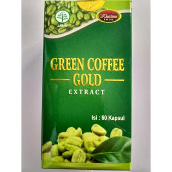 Harga Green Coffee Extract 60kpl 100% kopi hijau alami Kharisma Food