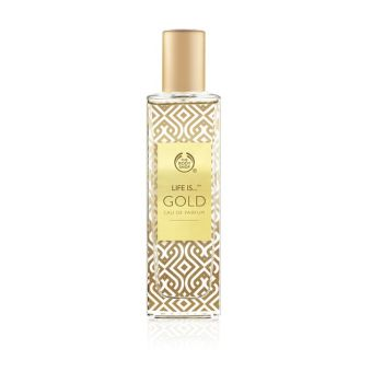 The Body Shop Life Is Gold Edp 50ml