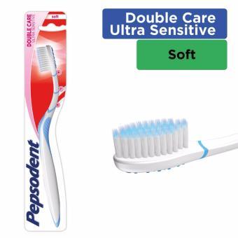 Pepsodent Double Care Sensitive Sikat Gigi Soft