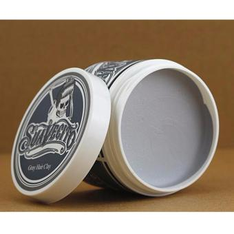Harga Pomade Suavecito Color/ Wax Clay Pomade Color - GRAY Hair Clay