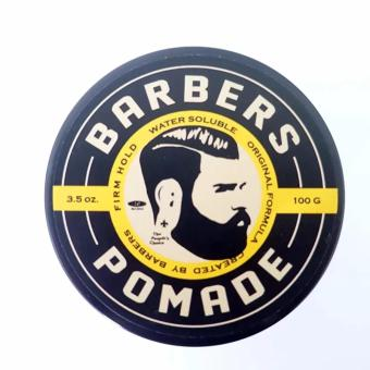Harga Pomade Barbers Pomade Medium Hold Black Edition100 gr Original