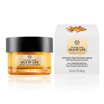Harga The Body Shop Oils Of Life Intensely Revitalising Cream 50ml