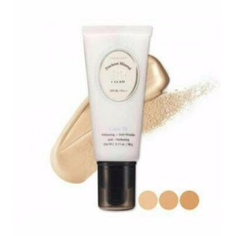 Etude House Precious Mineral BB Cream Cotton Fit Whitening Anti Wrinkle Anti Darkening SPF 30 PA++