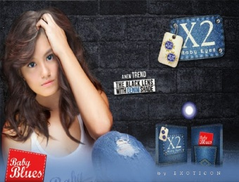 Harga X2 Baby Eyes - Baby Blues