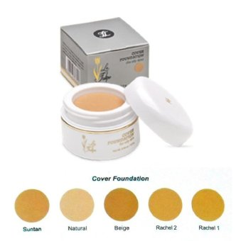 Harga La Tulipe Cover Foundation Natural