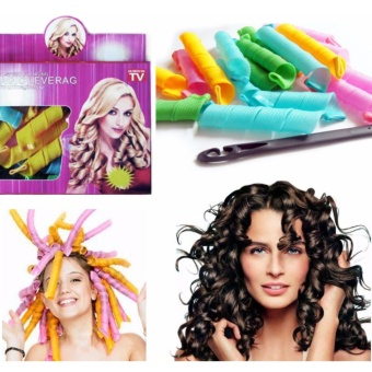 Harga magic Leverage / Hair curler / Alat Keriting Rambut 18 roll