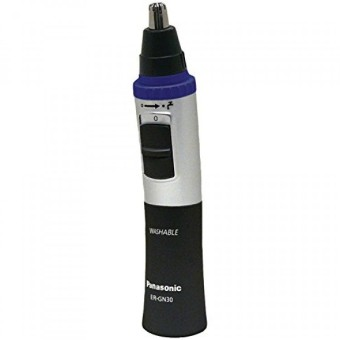 Harga Panasonic Nose, Ear & Facial Hair Trimmer Wet/Dry with Vortex Cleaning System Black ER-GN30-K - intl