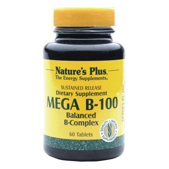 Natural Plus Mega B-100 Sustained Release 60's ...