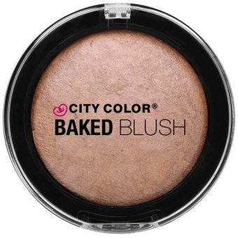 Harga City Color Baked Blush - Bronze