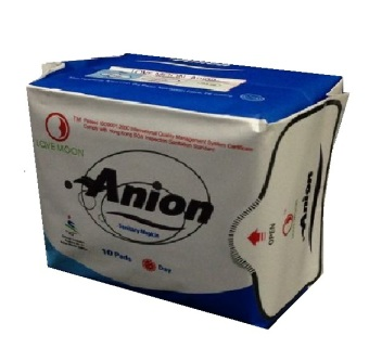 Harga Anion Love Moon Pembalut Anion Pembalut Wanita Ion Negative Daily Day - Biru