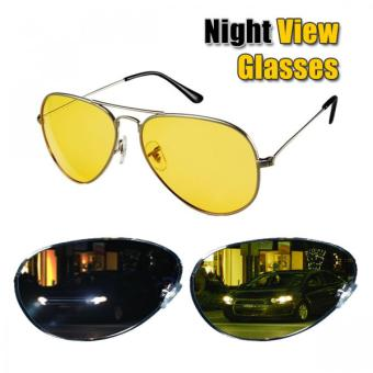 Harga Night View Glasses Kacamata Malam Anti Silau - Kuning
