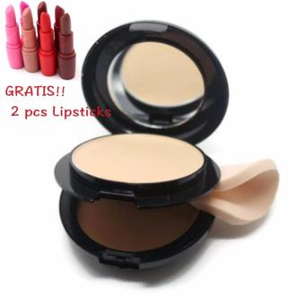 Harga Mesh 2in1 Compact Powder - Bedak 2in1 colorstay FREE 2 PCS LIPSTICKS