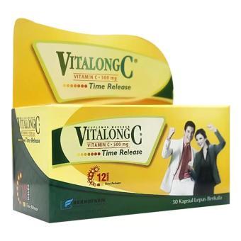 Vitalong C 30's - Meningkatkan Daya Tahan Tubuh, KekebalanTubuh, Imunitas Tubuh, Mencegah Flu ...