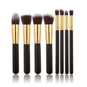 8 buah kuas Make Up kosmetik kecantikan dasar pencampuran Set kuas rias - International