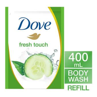 Harga Dove Go Fresh Fresh Touch Body Wash Refill 400Ml