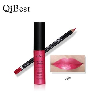 Waterproof Pencil Long Lasting Lipliner With Lipstick perfect combination - intl