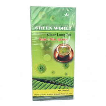Harga Green World Clear Lung Tea Green World Penghilang Dahak
