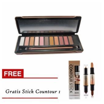 Harga Mesh N5 Pallete Eyeshadow Gratis Stick Concealer Contour 2in1