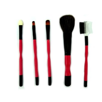 Beau Kuas Make Up Set isi 5 Pcs - Pink Tua ...