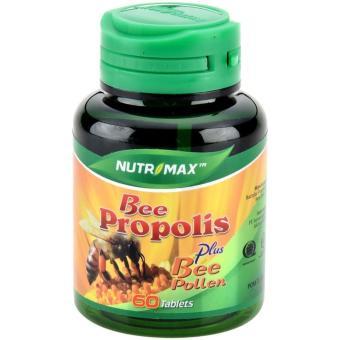 Nutrimax Bee Propolis Plus Bee Pollen 60's - Meningkatkan Daya Tahan Tubuh, Meningkatkan Kesuburan,