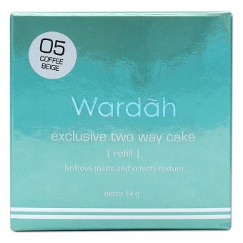 Harga Wardah Refill Exclusive TWC 05 Coffe Beige