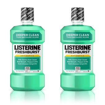 Harga Listerine Fresh Burst 250 mL - 2 Botol