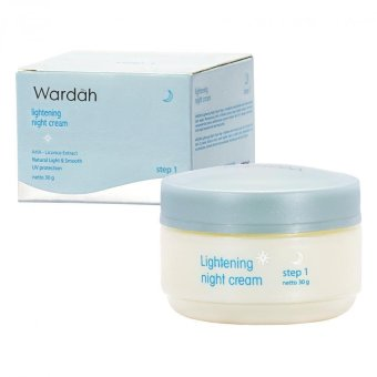 Harga Wardah Light Night Crm Step 1