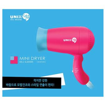 Harga Unix Korean Best Selling 400W Portable and Foldable Mini Takeout Hair Dryer. UN-B1255 with Negative Ion - intl