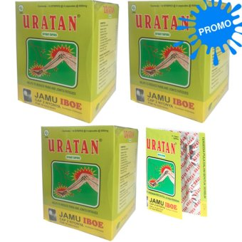 Harga Jamu Iboe Promo Uratan Strip Kapsul Herbal Suplemen 3 dos @10 strip