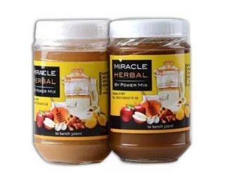Harga Miracle Herbal by Power Mix 1 Madu Murni dan Madu Hitam